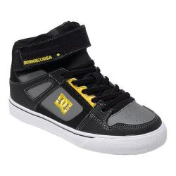 Boys' DC Shoes Spartan High EV Black/Yellow