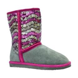Girls' Lamo Sequin Pattern Boot Stripey