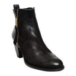 Women's Steve Madden Wantagh Ankle Boot Black Leather