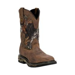 Men's Dan Post Boots Hunter DP69408 Saddle Tan/Mossy Oak Leather