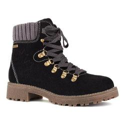 Women's Cougar Apex Waterproof Boot Black Suede