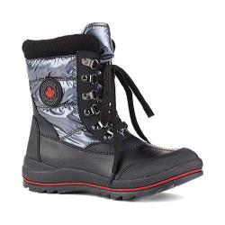 Women's Cougar Chamonix Snow Boot Gunmetal Shimmer Nylon