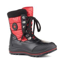 Women's Cougar Chamonix Snow Boot Red Sleek Nylon