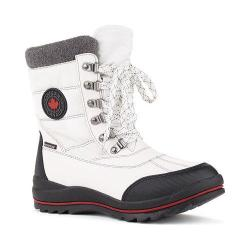 Women's Cougar Chamonix Snow Boot White Sleek Nylon