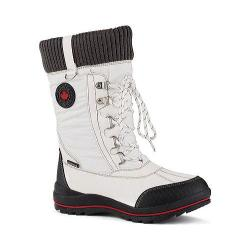 Women's Cougar Como Waterproof Boot White Sleek Nylon