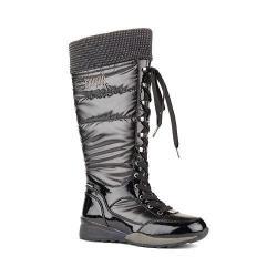 Women's Cougar Tasty Waterproof Boot Black Shimmer Nylon