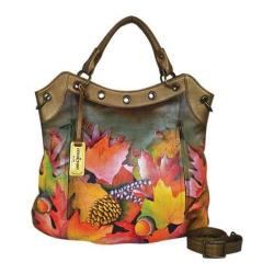 Women's Anuschka Multi Pocket Convertible Tote Fall Fiesta