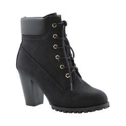 Women's L & C Cici-10 Ankle Boot Black