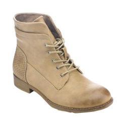 Women's L & C Elena-59 Ankle Boot Khaki