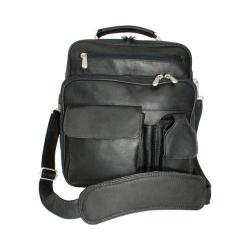 Piel Leather Deluxe Bag 9927 Black