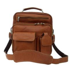 Piel Leather Deluxe Bag 9927 Saddle