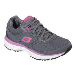 Women's Skechers Agility Ramp Up Charcoal/Purple