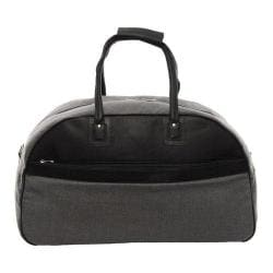 Piel Leather Satchel Travel Bag 3077 Black