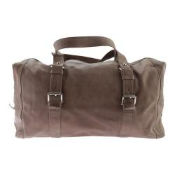 Piel Leather Satchel With Buckles 3030 Toffee