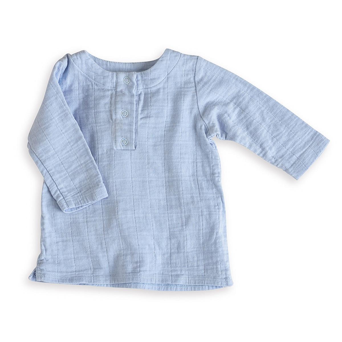 aden + anais Boys 6-9 Months Night Sky Blue Muslin Tunic Top