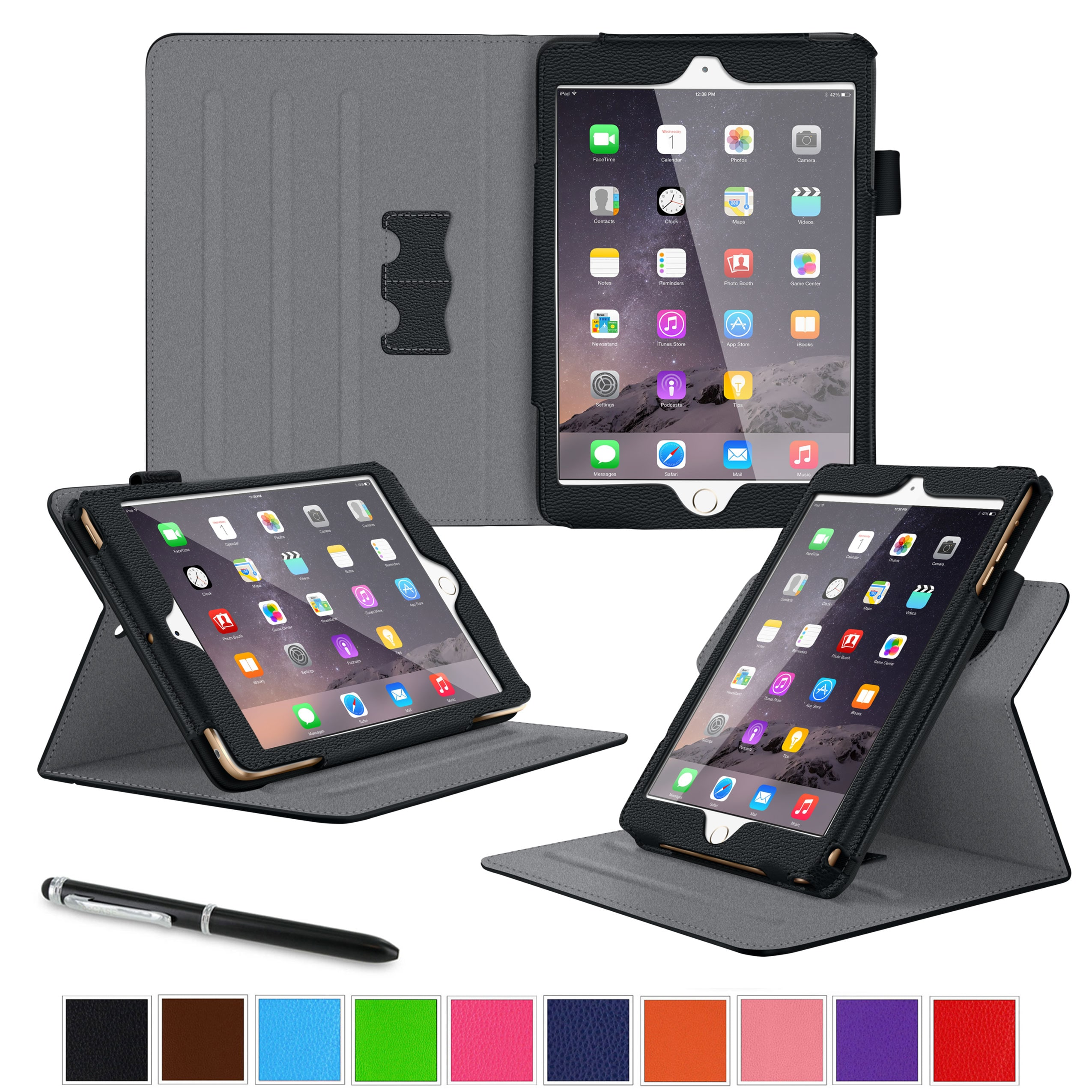 roocase Dual View Case for Apple iPad Mini 4