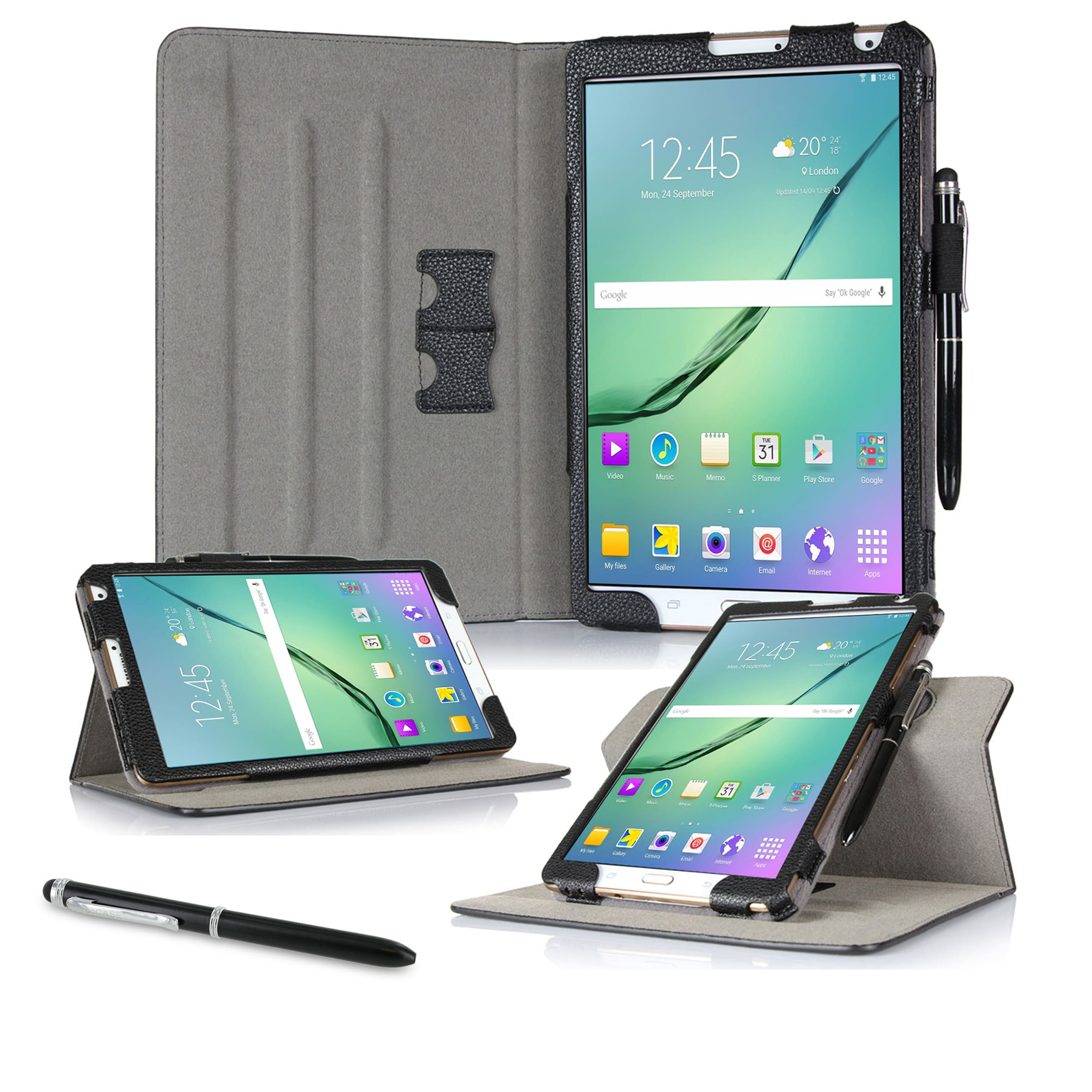 roocase Dual View Case for Samsung Galaxy Tab S2 9.7