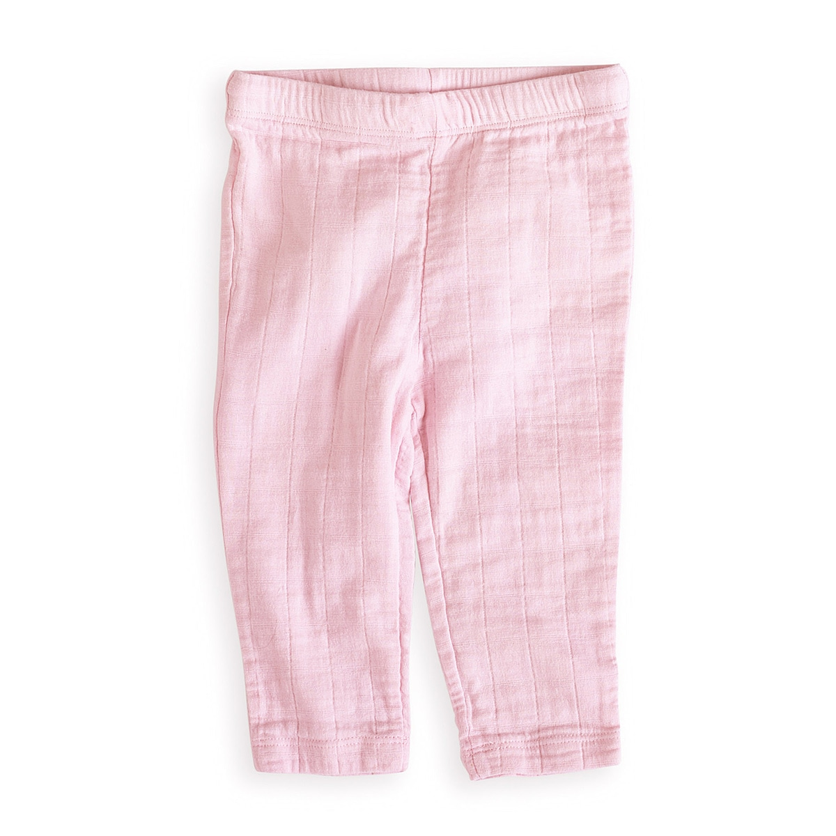 aden + anais Girls 3-6 Months Lovely Pink Muslin Pants