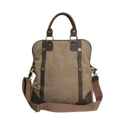 Laurex Multi-Purpose Messenger/Duffel Bag Khaki