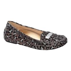 Women's Vionic with Orthaheel Technology Sydney Driver Grey Leopard