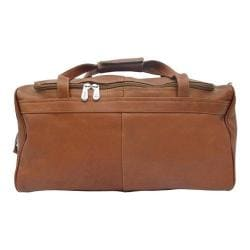 Piel Leather Travelers Select Small Duffel Bag 9710 Saddle