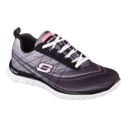 Women's Skechers Flex Appeal Pretty Please Black/White