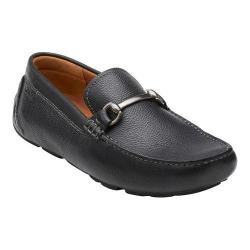 Men's Clarks Davont Ride Black Tumbled Leather