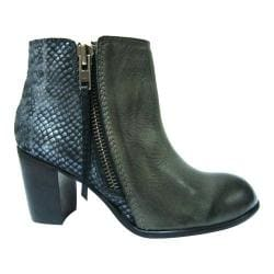 Women's Diba True A Romance Bootie Grey/Silver Leather/Metallic