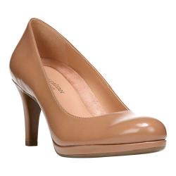 Women's Naturalizer Michelle Pump Nude Shiny Harris Polyurethane 16576160