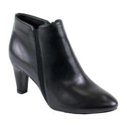 Women's Reneeze Petra-01 Pointed Toe Ankle Boot Black PU