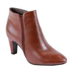 Women's Reneeze Petra-01 Pointed Toe Ankle Boot Light Brown PU