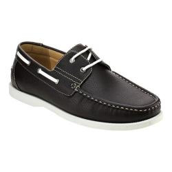 Men's L & C Winson-01 Boat Shoe Brown
