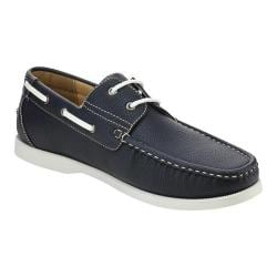 Men's L & C Winson-01 Boat Shoe Navy