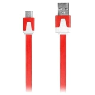 iEssentials 3.3ft Micro USB Flat Colored Charge and Sync Cable