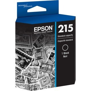 Epson DURABrite Ultra T215 Ink Cartridge - Black