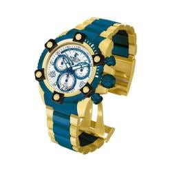 Men's Invicta Arsenal 13717 Blue/Gold Stainless Steel/Silver