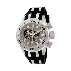 Men's Invicta Bolt 0981 Black Polyurethane/Titanium