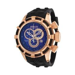 Men's Invicta Bolt 15774 Black Polyurethane/Blue