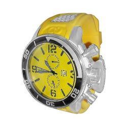 Men's Invicta Corduba 1054 Yellow Rubber/Yellow