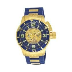 Men's Invicta Corduba Mechanical Dive TT 7269 Gold/TT Blue GT