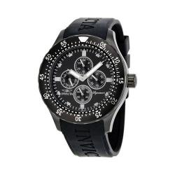 Men's Invicta Signature 7404 Black Polyurethane/Black