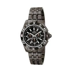 Men's Invicta Signature II 7304 Black Steel/Black