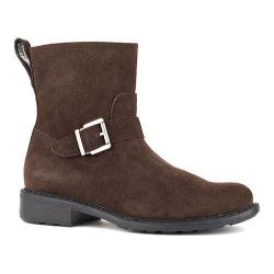 Women's Cougar Janet Waterproof Ankle Boot Chocolate Silky Suede