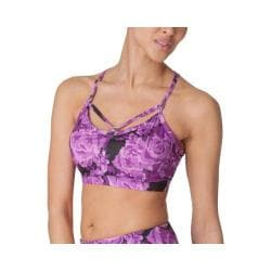 Women's Fila Bringing Sexy Back Bra Purple Rose Print
