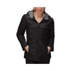 Women's Fila Channel Puffer Jacket Black