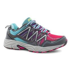 Women's Fila Headway 6 Trail Running Shoe Pink Glo/Blue Fish/Castlerock