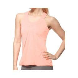 Women's Fila Illusion Draped Tank Top Peach Poise