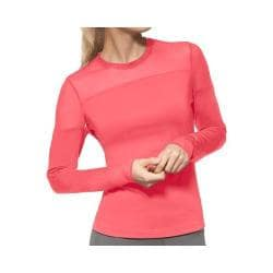 Women's Fila Illusion Long Sleeve Top Coral Slope