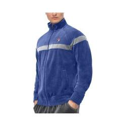 Men's Fila Old School Jacket Blue Depths/High-rise/White