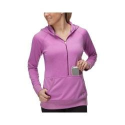 Women's Fila Phenom Half Zip Hoody Thistle/Sparkling Purple